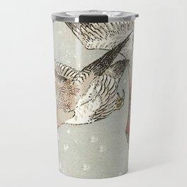 Snow Geese Travel Mug