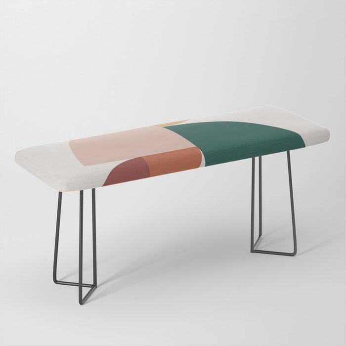 Abstract Geometric 11 Bench