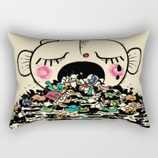 Save the fishes Rectangular Pillow