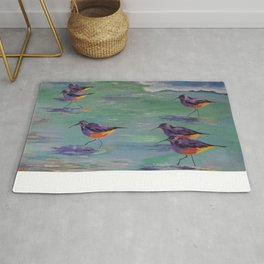 Dance of the Sandpipers Rug