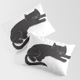 Happy Kitty Pillow Sham