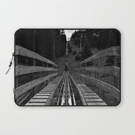 adventure park hög schneisenfeger coaster alps sfl tyrol austria europe black white Laptop Sleeve