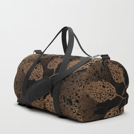 brown autumn Duffle Bag