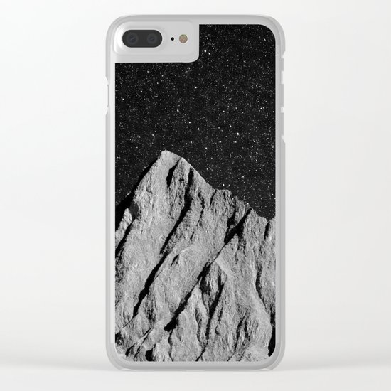 interstellar landscape Clear iPhone Case