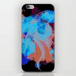 Splatter koi fish iPhone Skin