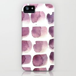 brushstrokes iPhone Case