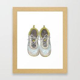 Let's Go Running Framed Art Print
