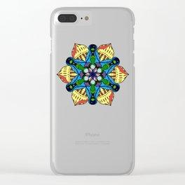 Symmetrical Sea Clear iPhone Case