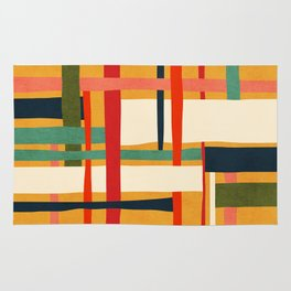 Variation of a theme Rug