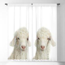 Lamb Art Print by Zouzounio Art Blackout Curtain