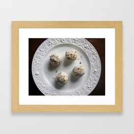 Fruit Cake Truffles: Take One Framed Art Print
