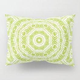 Spring Botanic Mandala Pillow Sham