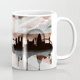 London Skyline 2 Tea Staines Coffee Mug