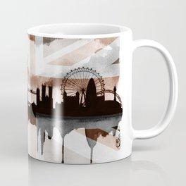 London Skyline 2 Tea Staines Coffee Mug