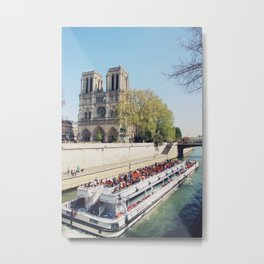 The Notre Dame Cathedral Metal Print