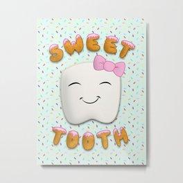Sweet Tooth Metal Print