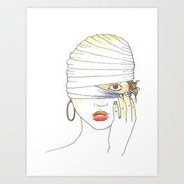 Awaken (Illustration) Art Print