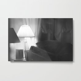 sleep before another day of hard work Metal Print