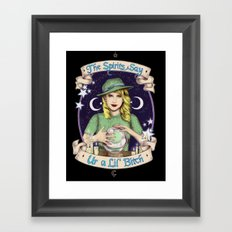 Mystic Miss Maggie Esmerelda (color) Framed Art Print