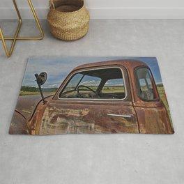 Old Tanker Cab Rug