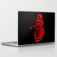 dalek Laptop & iPad Skins featuring Dalek by InvaderDig