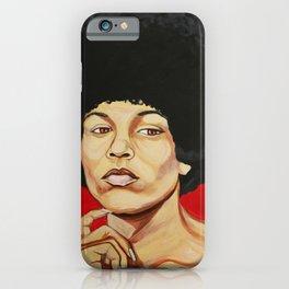 "Angela Davis ""Revolutionary"" iPhone Case"