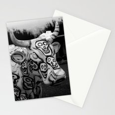 Skull Cow Stationery Cards