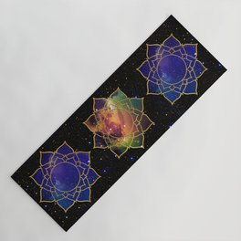 Abstract Space Fantasy Yoga Mat