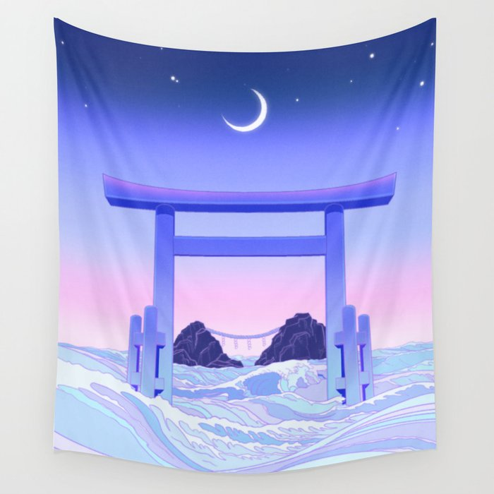 Floating World Wall Tapestry