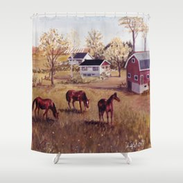Nova Scotia, CANADA                             by Kay Lipton Shower Curtain