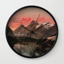 """""""Kongen Dronningen og Bispen Norway"""" Wall Clock"""