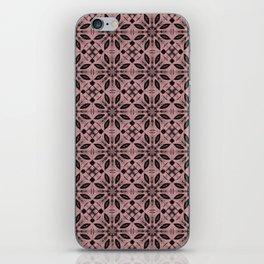 Bridal Rose Floral Pattern iPhone Skin