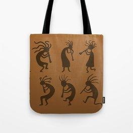 Kokopelli Tote Bag