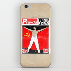 LENNIE IS DEAD iPhone & iPod Skin