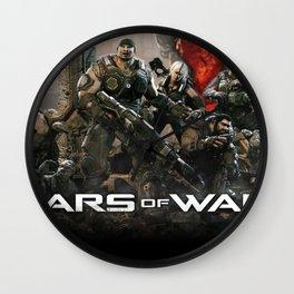 Gears Of War Work Art 03 Wall Clock