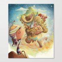 peru Canvas Prints featuring Peru by andreaga