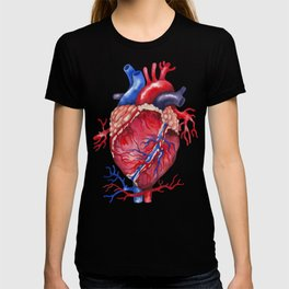 Watercolor heart T-shirt