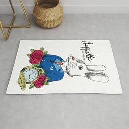 Geppetto White Rabbit Rug