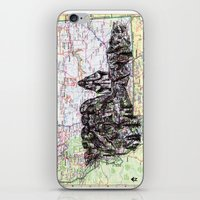 montana iPhone & iPod Skins featuring Montana by Ursula Rodgers