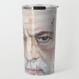 SIGMUND FREUD- oil portrait Travel Mug