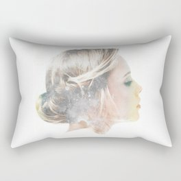 it's all about whether you hear your heart Rectangular Pillow