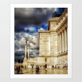 altare della patria Art Print