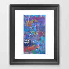 Nothing Lasts Forever All is Eternal Framed Art Print