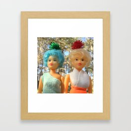 Hazel & Loy Enchanted Forest Framed Art Print