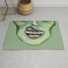 Carl The Zombie Rug