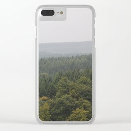 Over Harz Wald Clear iPhone Case