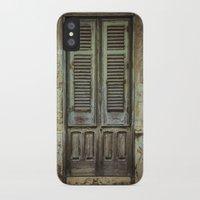 italian iPhone & iPod Cases featuring Italian Door III by Maria Heyens