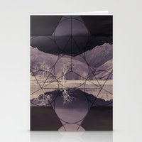 sacred geometry Stationery Cards featuring Sacred by Jemma Pope