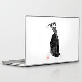 watching cat Laptop & iPad Skin