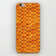 Digital knitting pattern iPhone Skin